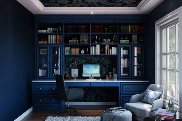 Painted Statement Ceilings