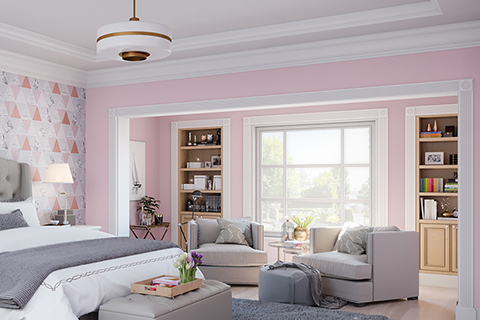 priceilla pink paint bedroom