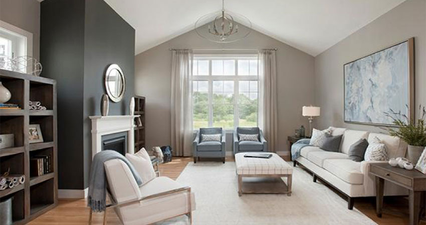 useful grey interior paint