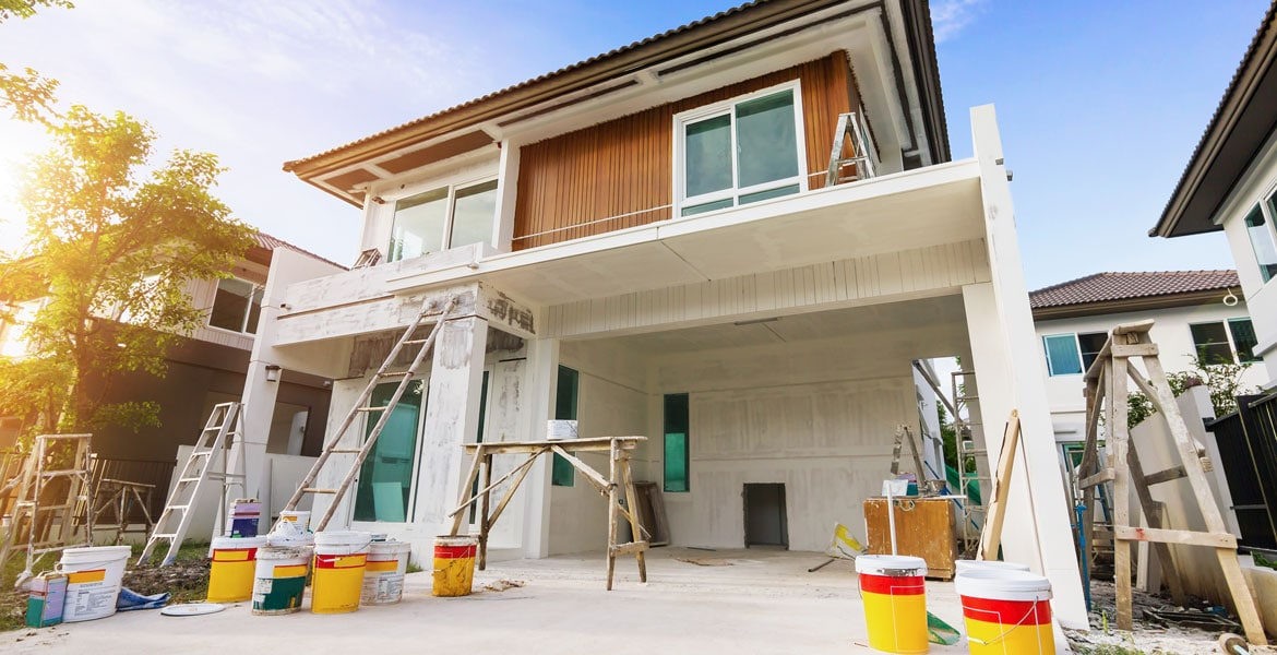 Material for exterior home painting