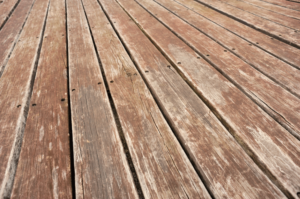 peeling deck