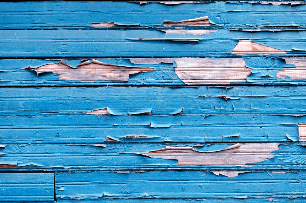 signs you need to paint your home: peeling paint